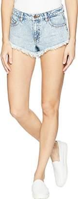 """Volcom Women's Stoney 1.5"""" Micro Denim Short"""