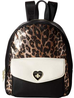 Betsey Johnson Turnlock Backpack Backpack Bags