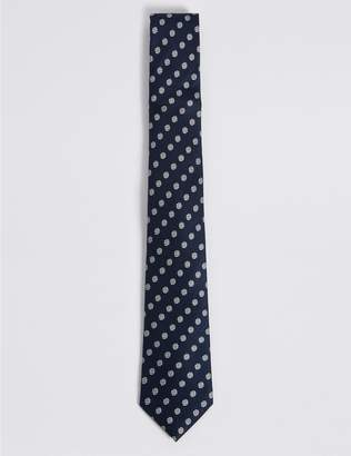 Marks and Spencer Pure Silk Spot Tie