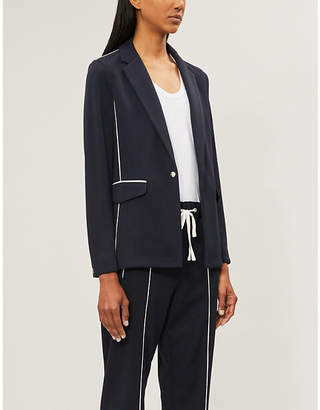 Rag & Bone Sandrine long-sleeved woven blazer