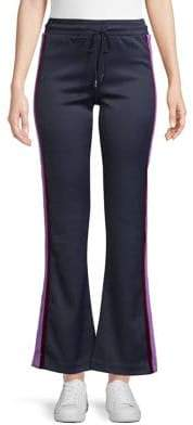 Sandro Patricia Cropped Track Pants