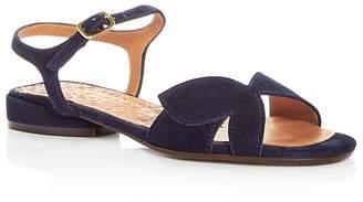 Chie Mihara Women's Vonsai Suede Sandals - 100% Exclusive