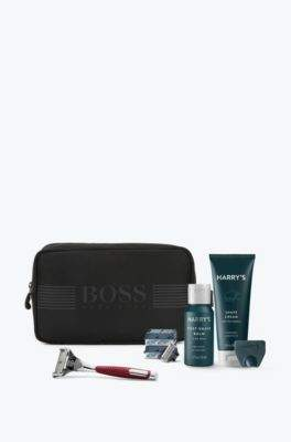 BOSS Hugo Toiletry bag Harry's shaving set One Size Black