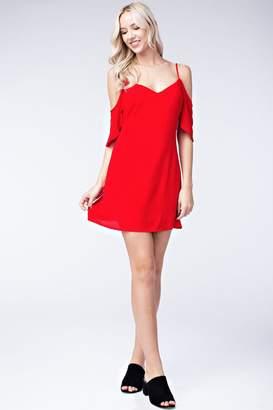 b3947998dd4 at Shoptiques · Wild Honey Cold-Shoulder Spaghetti-Strap Dress