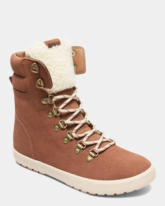 Roxy Womens Anderson Lace-Up Snow Boots