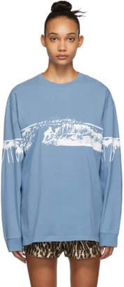 R 13 Blue Surf Long Sleeve T-Shirt