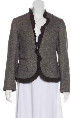 Michael Kors Wool Cropped Blazer