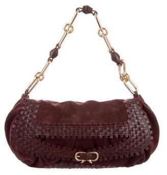 Anya Hindmarch Suede Handle Bag