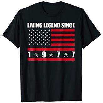 Living Legend Since 1977 T-shirt 41st Birthday Gifts
