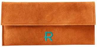 Mark And Graham Suede Boho Envelope Clutch, Orange