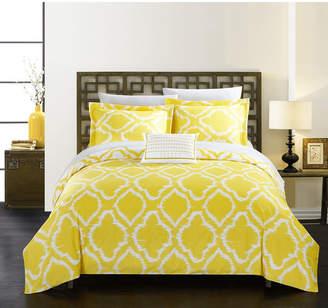 Chic Home Juniper 4 Pc King Duvet Cover Set Bedding