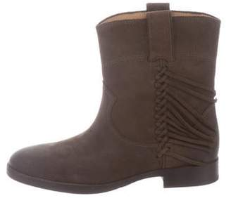 Sigerson Morrison Leather Mid-Calf Boots