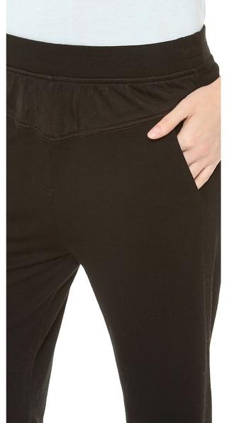 Alexander Wang Triblend Jersey Long John Sweatpants