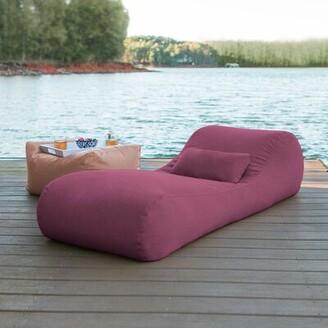 Freeport Park Daisha Outdoor Bag Sun Chaise Lounge with Cushion Freeport Park