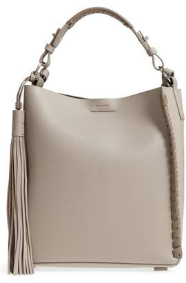 AllSaints Kepi Leather Shoulder Bag