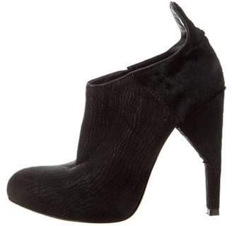 Alexander Wang Leather Ankle Booties Black Leather Ankle Booties