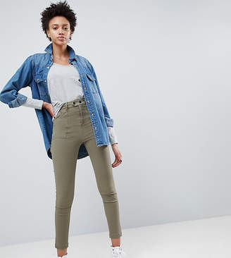 Asos Design DESIGN skinny pants with carpenter detail