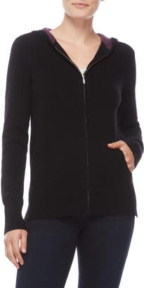 Ply Cashmere Cashmere Zip Hoodie