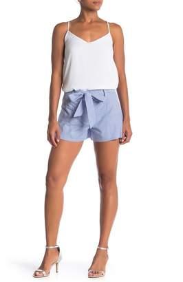 Parker Stripe Print Tie Shorts