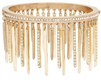 Women's Jenny Packham Stardust Crystal Fringe Bangle $88 thestylecure.com