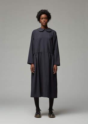 Comme des Garcons Long Sleeve Wool Dress