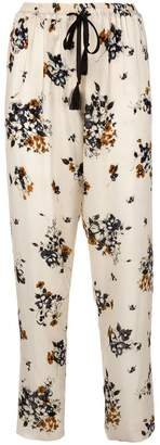 Forte Forte floral print trousers