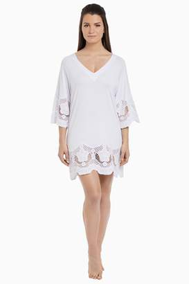 Next Womens Fantasie White Dione Crochet Lace Tunic