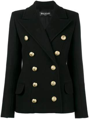 Balmain double breasted caban jacket