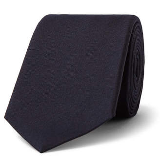 Gucci 7cm Panther-Appliquéd Silk And Wool-Blend Tie