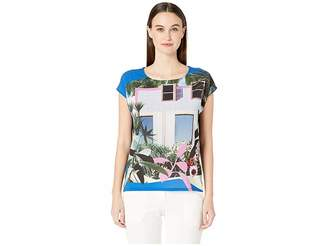 Paul Smith Picture Printed Short Sleeve Shirt