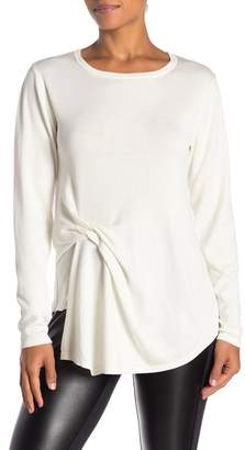 Nicole Miller New York Side Knot Sweater