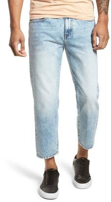 Denim & Supply Ralph Lauren Dr. Denim Supply Co Otis Straight Fit Crop Jeans (Buff Beige)