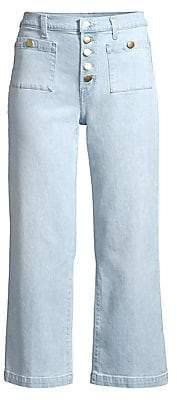 J Brand Women's Joan High-Rise Crop Jeans