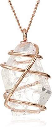 Robert Lee Morris Soho Caged Stone Pendant Necklace