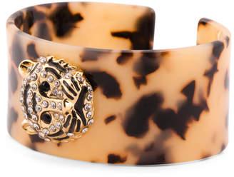 Amrita Singh Leopard Tortoise Resin Cuff