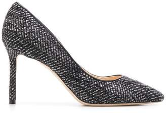Jimmy Choo Romy knit 85 pumps