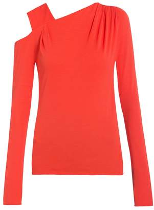 Vionnet Cutout Shoulder Blouse