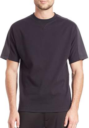 Madison Supply Men's Short Sleeve Paneled Tee