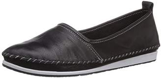 Andrea Conti Women's 0027422002 Loafer Flats Black Schwarz (schwarz 002) 7