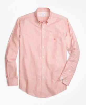 Brooks Brothers Non-Iron Regent Fit Supima Cotton Oxford Sport Shirt