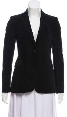 Alice + Olivia Notch-Lapel Corduroy Blazer