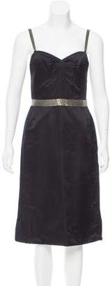 Marc Jacobs Embellished Satin Dress