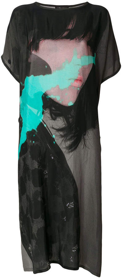 Barbara Bologna photographic print T-shirt dress