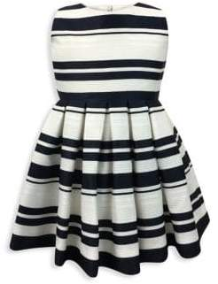 Helena and Harry Baby's, Little Girl's& Girl's Horizon Stripe Fit-&-Flare Dress