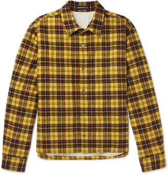 Undercover Checked Cotton-Flannel Shirt