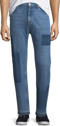 Ovadia & Sons OS-2 Straight-Leg Removed Patch Jeans