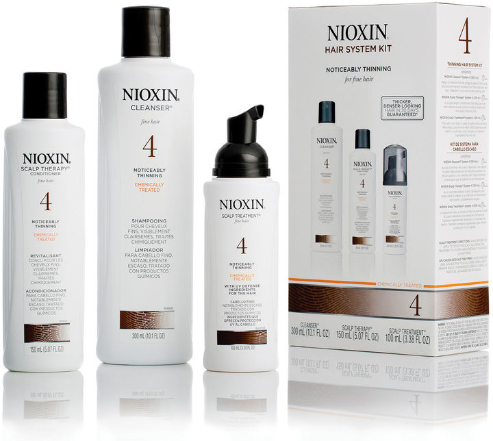 NIOXIN Nioxin Hair System 4 Kit for Noticeably Thinning Chemically Treated Hair