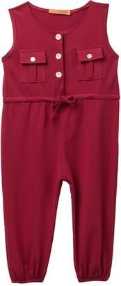 Funkyberry Sleeveless Jumpsuit (Toddler & Little Girls)