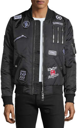 The New Designers Men's Cooper Patchwork Bomber Jacket