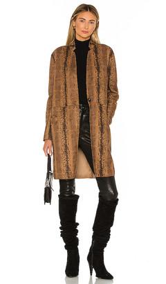 Blank NYC BLANKNYC Copperhead Faux Leather Coat